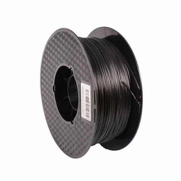 New 3D Printer Filament Carbon Fiber PLA 1.75mm Black Roll
