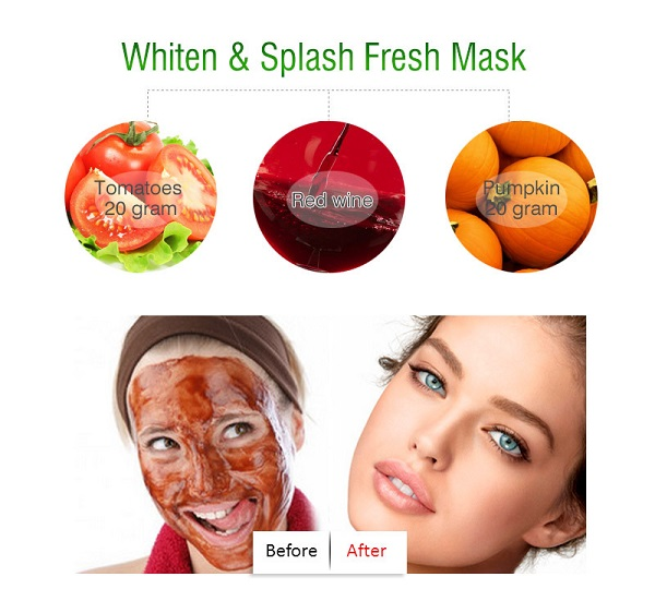 Facial fruit mask this intelligible