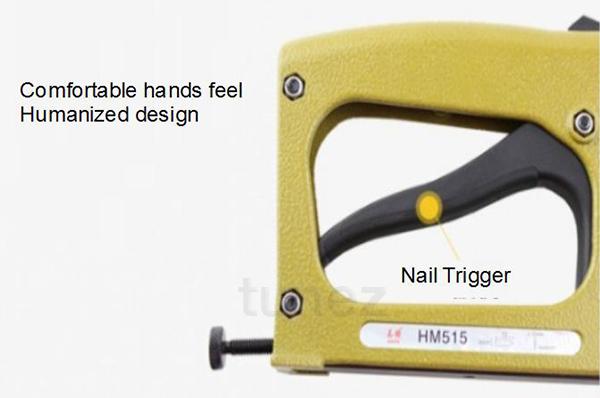 Professional Stapler Picture Framing Nailer Meite Flexi Point Gun ...