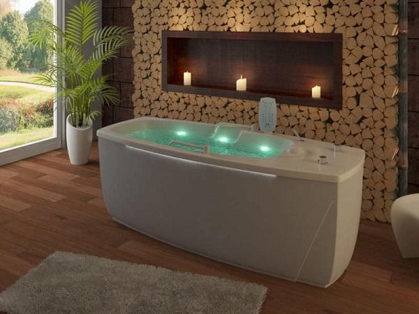 3x Bathtub Jacuzzi Pool Spa Bath Tub LED Light Colorful RGB IP68 + 1 ...