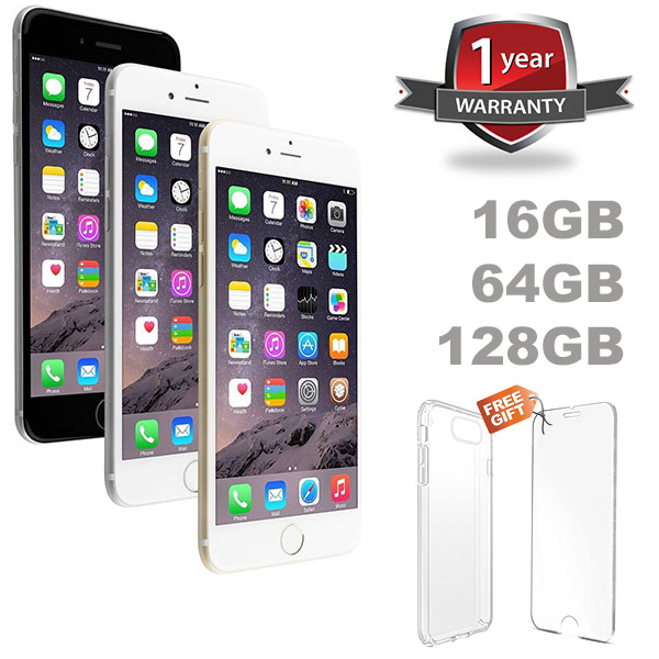 iphone 6 no contract apple iphone 6 and 6 plus 16gb 64gb 128gb factory unlocked 2391