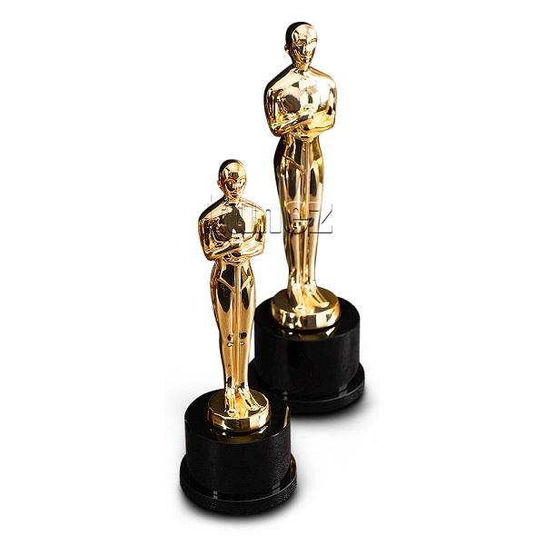 Academy Award Oscar Statue Trophy Replica Oscar Statuette Trophy Cm Cm Actor Award Prize Academy