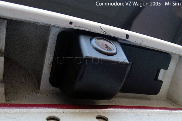 car reverse rear view parking camera holden commodore
