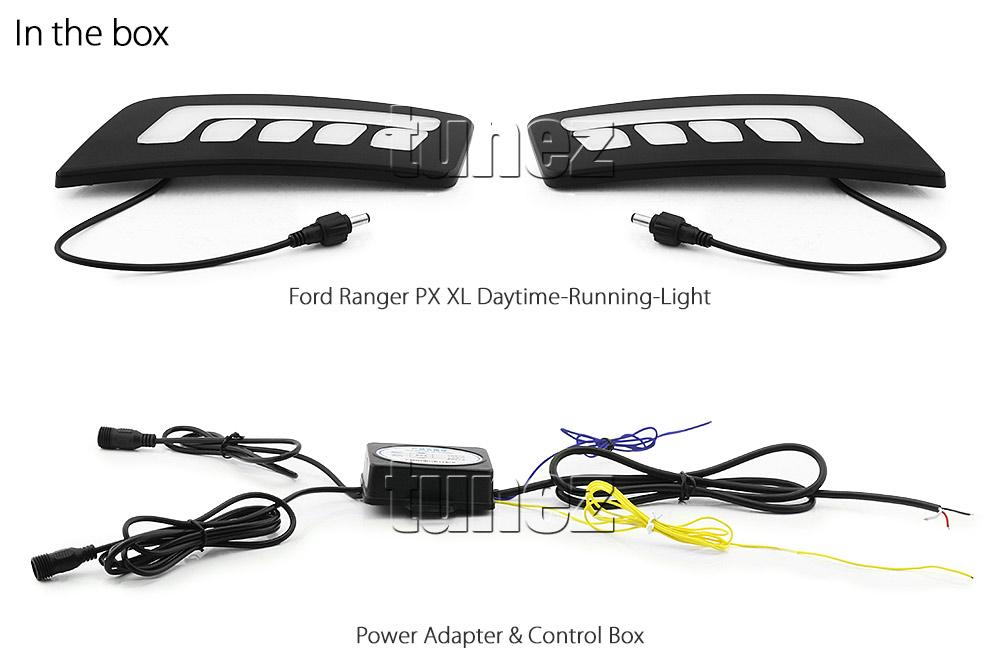 Led Daytime Running Light Drl Turn Signal For Ford Ranger