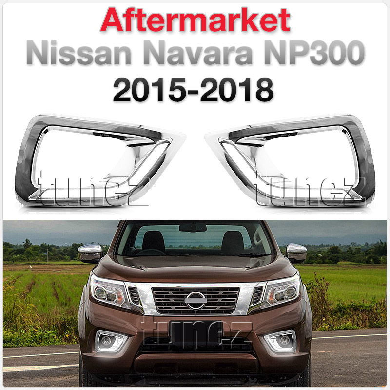 New LED Daytime Running Light DRL For Nissan Navara D23 NP300 Kit Fog Lamp OZ