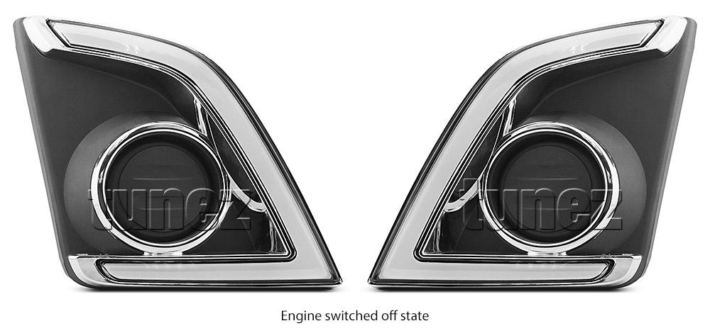 LED Daytime Running Light DRL Isuzu D-Max 2017 RT85 Fog Lamp Turn Indicator OZ