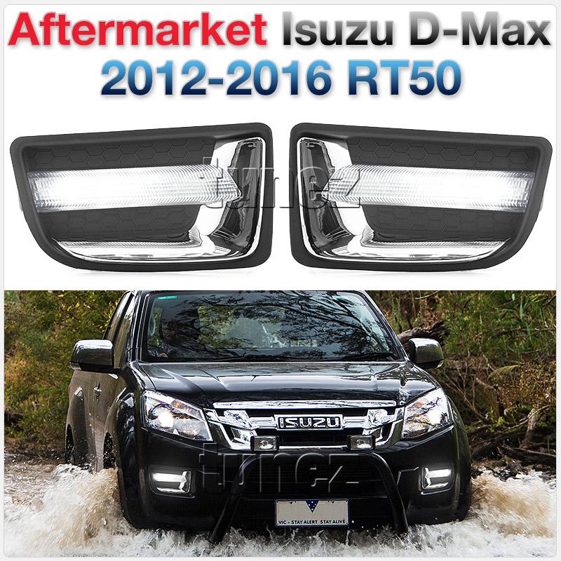 LED DRL Daytime Running Light Fog Guide Lamp Isuzu D-Max 2012-2016 RT50 Truck OZ