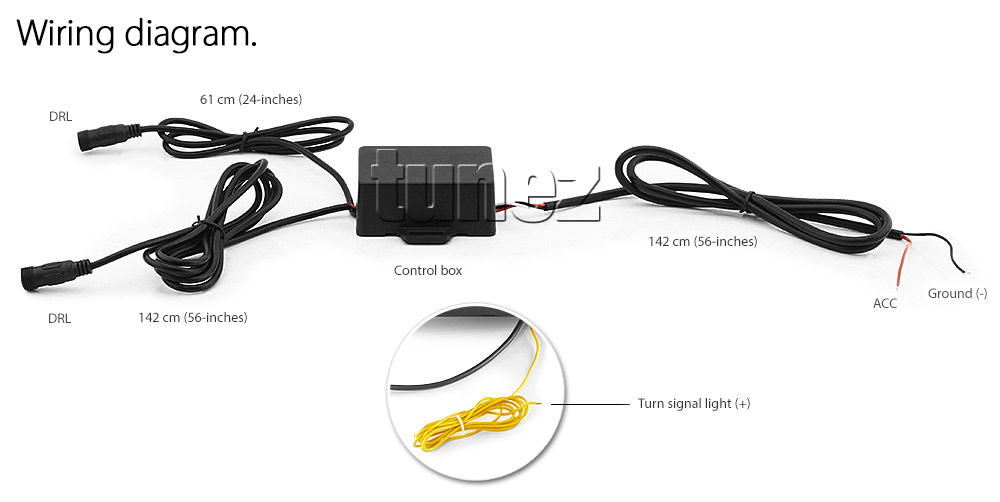 Led Sequential Turn Signal Daylight Drl Fog Lamp For Ford