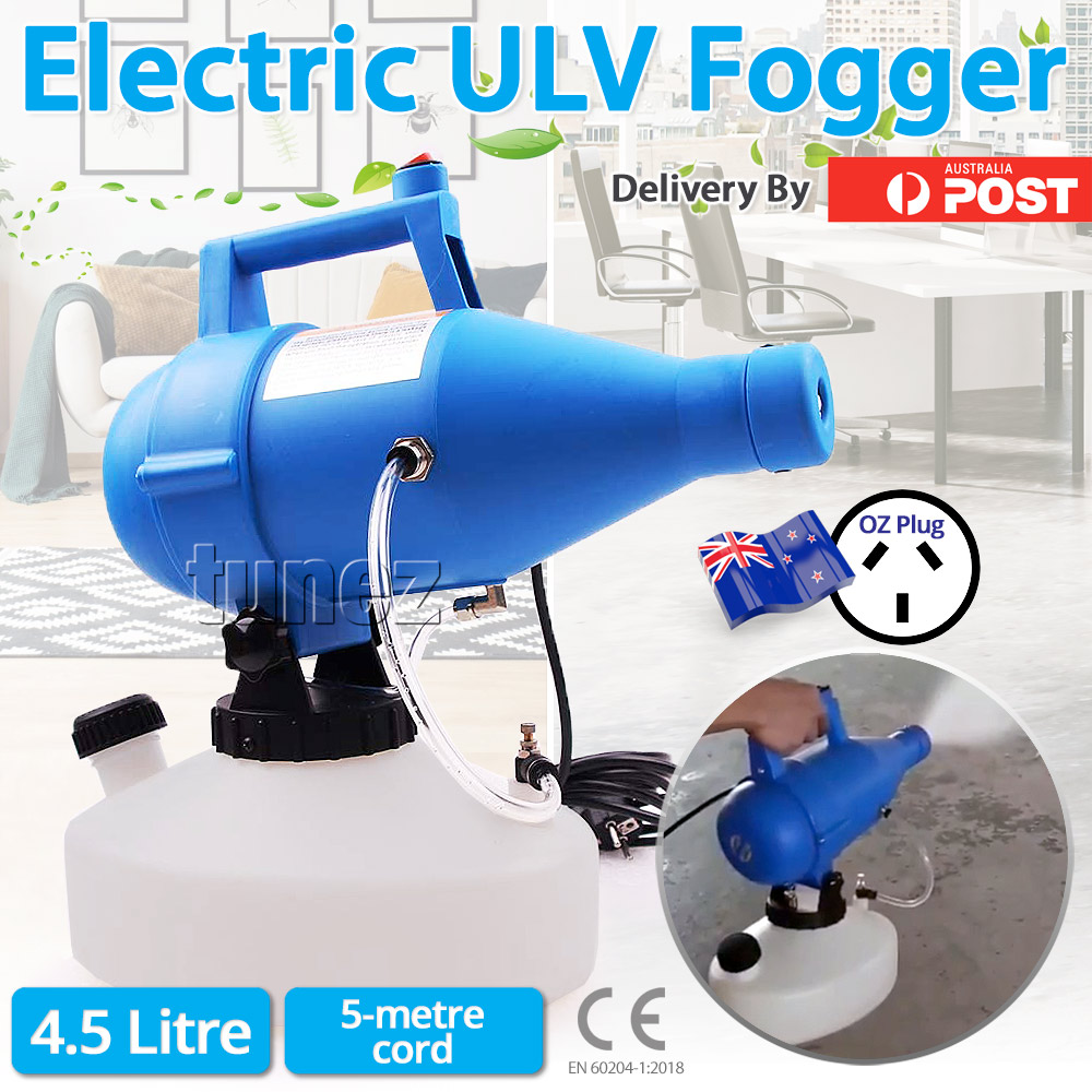 Electric Ultra Low Volume (ULV) Disinfectant Fogger Sprayer (Australian Plug)