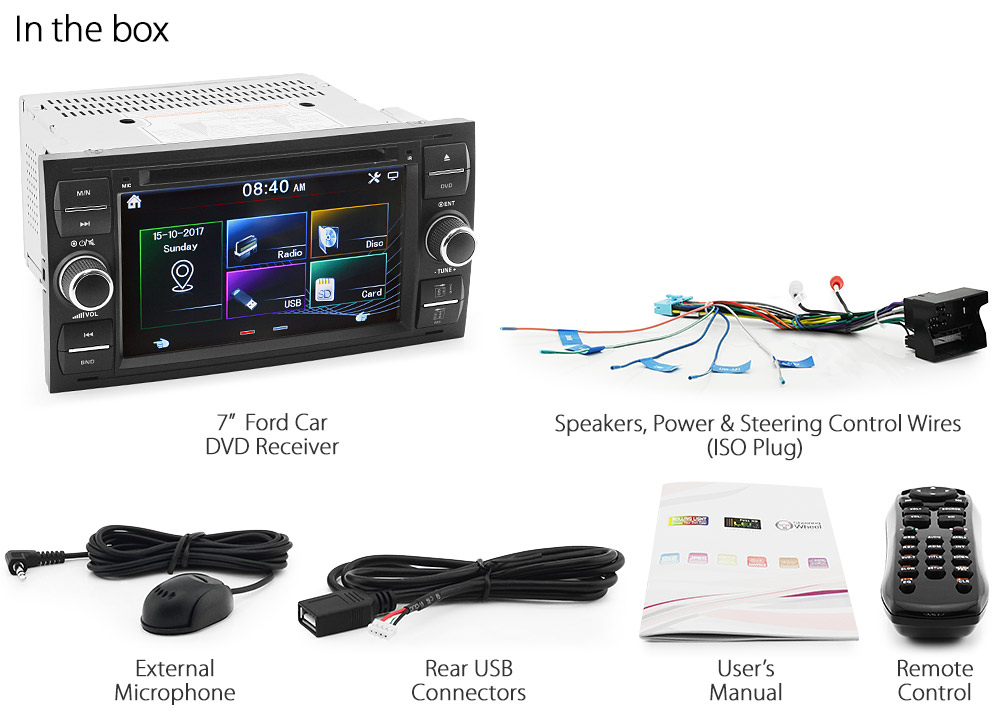 Car Dvd Player Usb Cd Stereo Radio For Ford C S Max