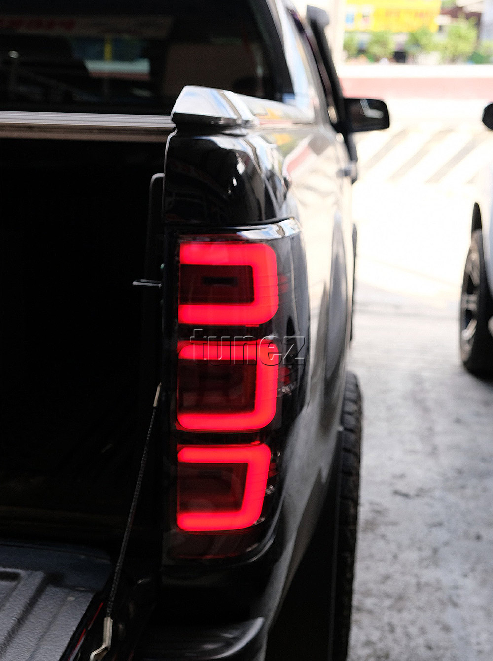 FRR12 Ford Ranger PX T6 Raptor Smoked Smoke Black Edition Styled Three U 3U Design LED Tail Rear Lamp Lights For Car Autotunez Tunez Taillights Rear Light OEM Aftermarket Pair Set 2018 2019 2020 2021 OEM Manufacturer Premier Series 1-Year 12-month Warranty Style Look 2.0 Bi Turbo CDI Bi-Turbo