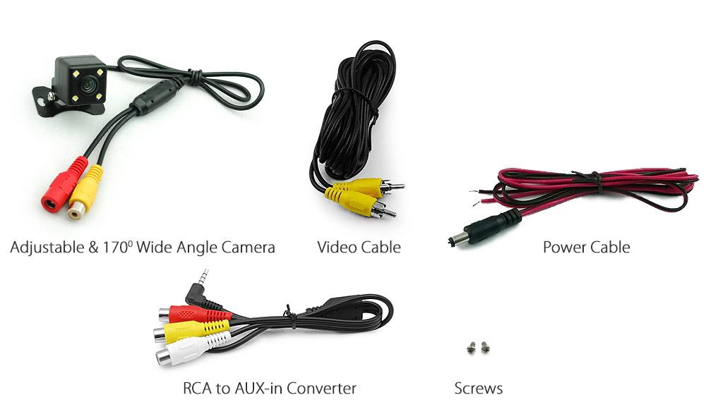 7 U0026quot  Gps Car Navigation System Sat Nav Reversing Camera Navigator Tunez Igo Primo