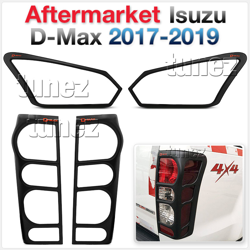 Front Tail Rear Light Head Lamp Cover Isuzu D-Max DMax RT85 RT-85 2017 2018 OZ