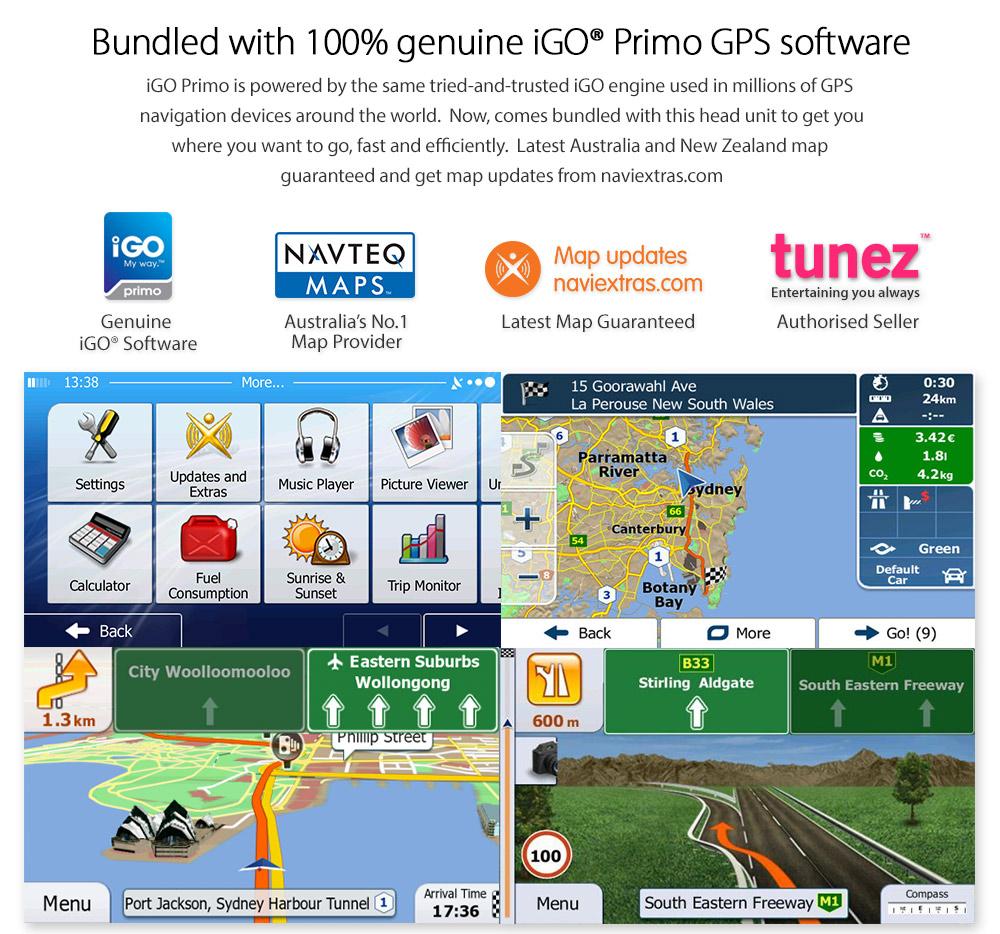 7 GPS Car Navigation System Sat Nav Reversing Camera Navigator
