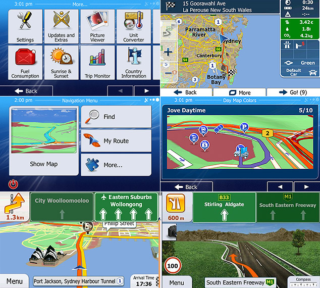 igo navi software