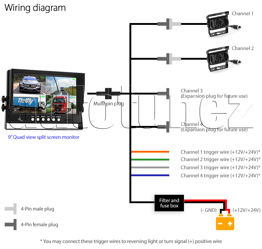 sony ccd camera wiring diagram ccd color camera kc552bcn