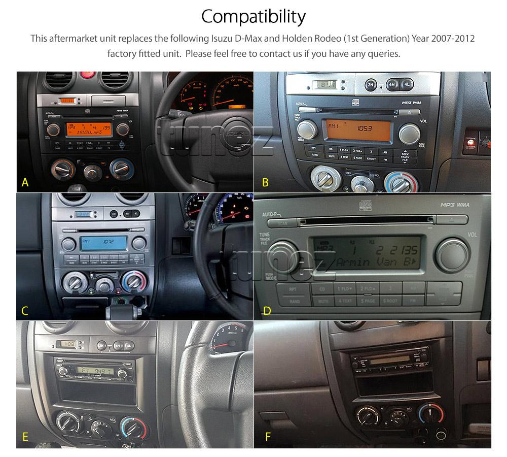 Car Dvd Mp3 Player Isuzu D