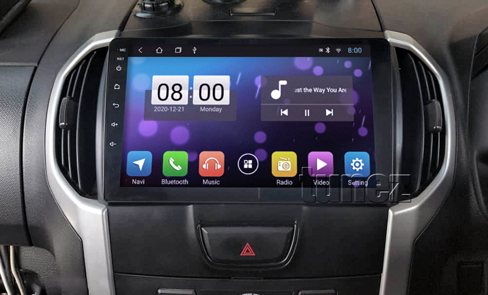 ISZ17AND GPS Aftermarket Isuzu D-Max MU-X Holden Chevrolet Colorado 2nd Generation Gen Year 2012 2013 2014 2015 2016 2017 2018 2019 large 9-inch 9' touchscreen Universal Double DIN Latest Australia UK European USA Original Android 8.1 8 Oreo car USB player radio stereo head unit details Aftermarket External and Internal Microphone Bluetooth Europe Sat Nav Navi Plug and Play ISO Plug Wiring Harness Matching Fascia Kit Facia Free Reversing Camera Album Art ID3 Tag RMVB MP3 MP4 AVI MKV Full High Definition FHD AirPlay Air Play MirrorLink Mirror Link MyLink My Link 1080p DAB+ Digital Radio DAB + Connects2 CTSIZ001.2