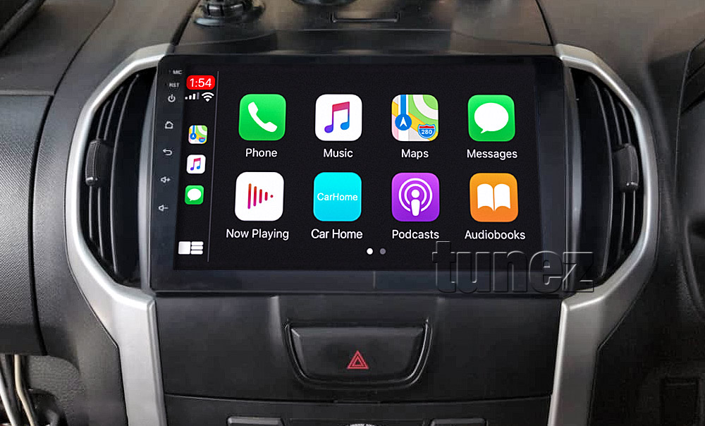 ISZ18CP ISZ18 Licensed Apple CarPlay Android Auto GPS Isuzu D-Max MU-X Holden Chevrolet Colorado 2nd Generation Gen Year 2012 2013 2014 2015 2016 2017 2018 2019 Super Large 9-inch 9
