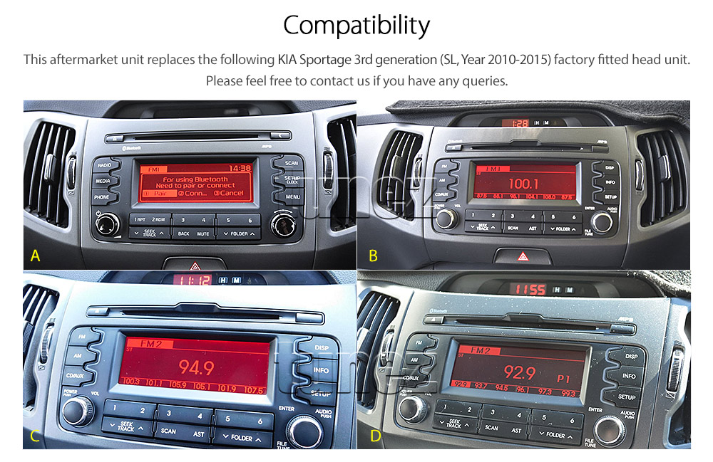 Android Car Mp3 Player Kia Sportage 2010