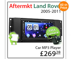 land rover discovery 3 car dvd player usb mp3 stereo radio. Black Bedroom Furniture Sets. Home Design Ideas