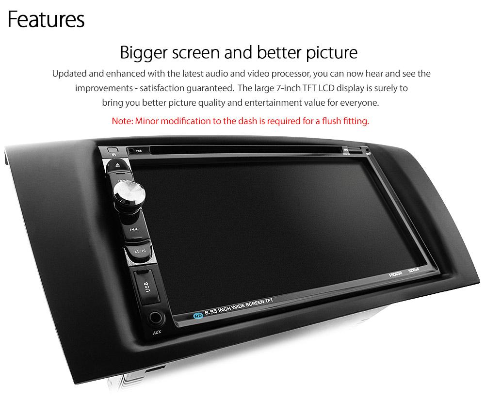 car dvd player for mazda3 mazda 3 bk facia fascia iso kit. Black Bedroom Furniture Sets. Home Design Ideas