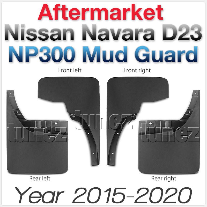 Front Rear Mud Flap Splash Guard Nissan Navara NP300 D23 2016 2017 2018 Truck OZ