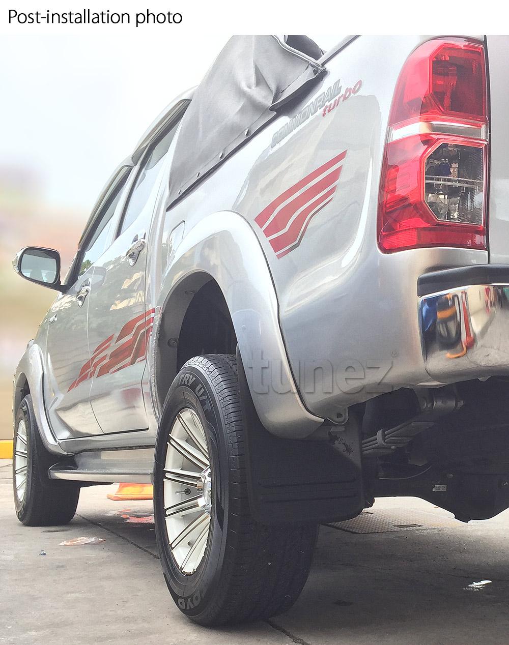 /2014/auto camion 4/pezzo OEM Fitment paraspruzzi paraspruzzi parafango per Hilux 2005/