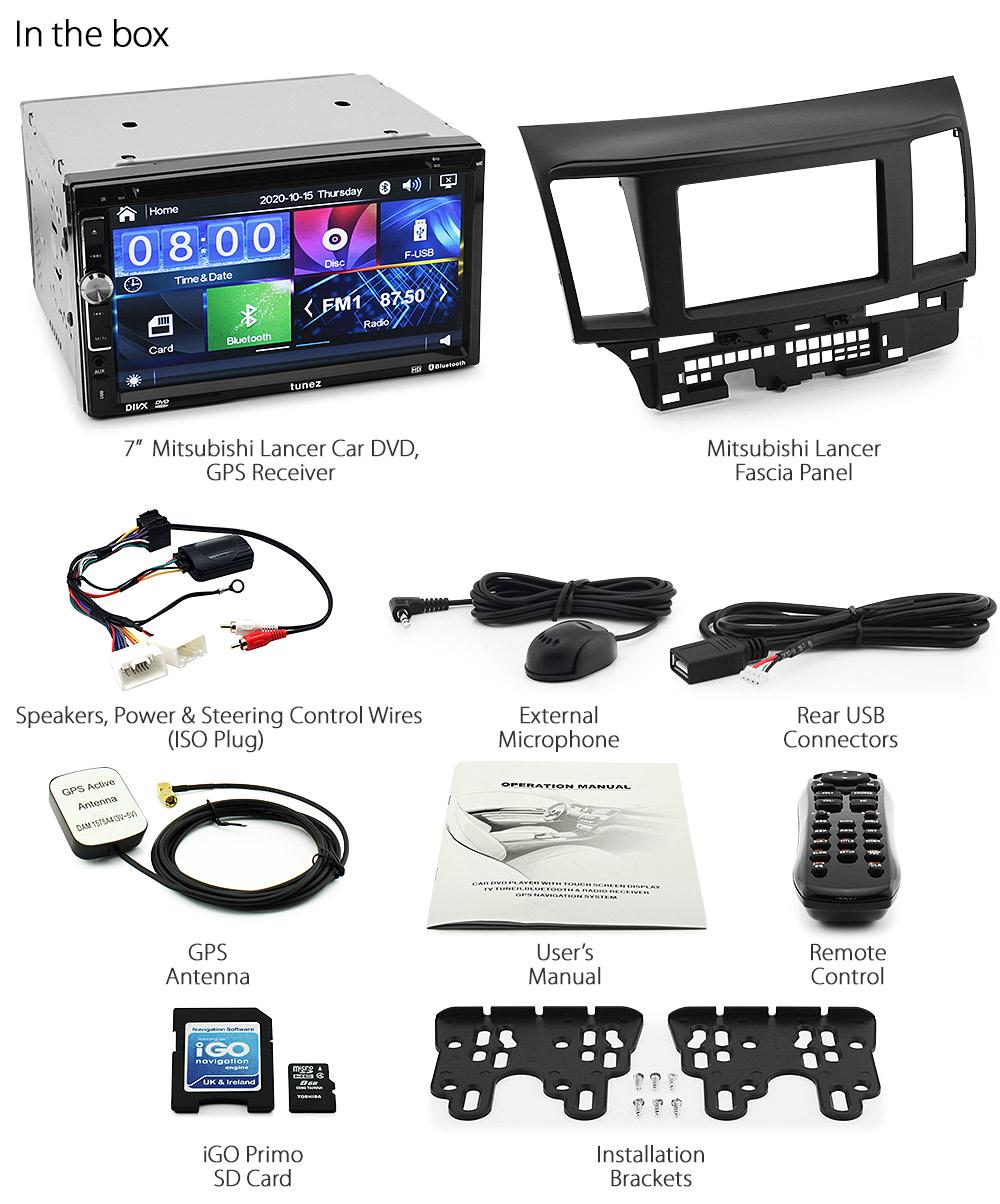 Mitsubishi Lancer Cd Player Wiring Diagram : Car gps dvd player mitsubishi lancer  stereo