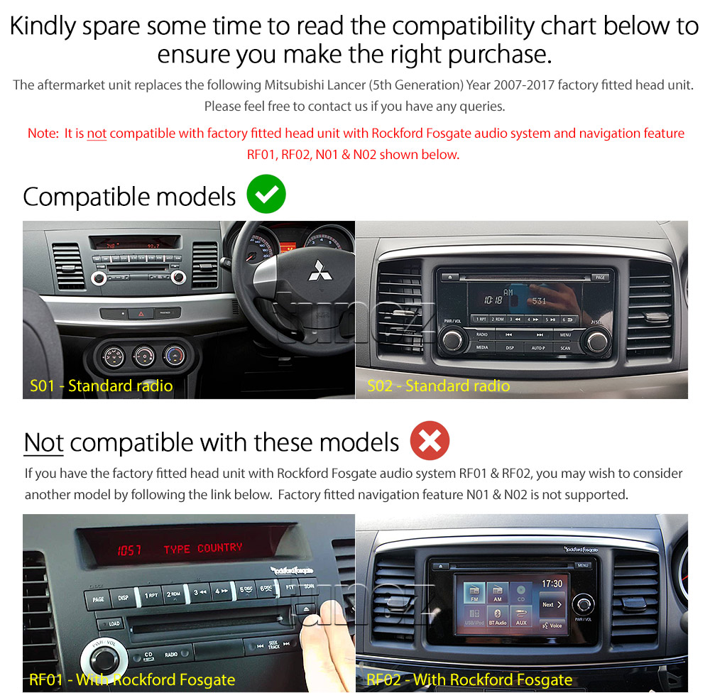 10 U0026quot  Android Car Player Mp3 For Mitsubishi Lancer Cj 2007