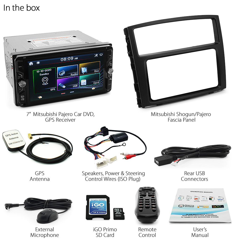 Chassis Wiring Channel Guide And Troubleshooting Of Diagram 1946 Willys Jeep Mitsubishi Pajero Car Dvd Gps Navi Stereo Mp3 Radio Player Head Unit Cd V80 Kt Ebay Spartan 2005