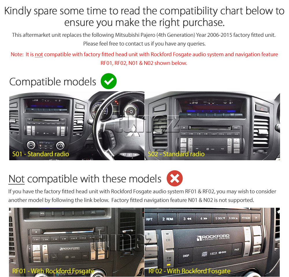Details about Car DVD Player Mitsubishi Pajero NW NT NS Stereo Radio MP3  Fascia Facia Kit CD T