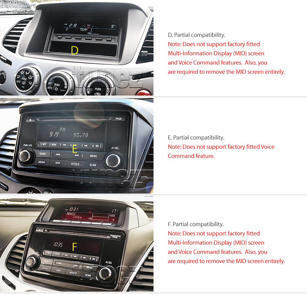 Car Dvd Usb Mp3 Player Mitsubishi Challenger Pb Pc Stereo Radio Facia Iso Kit Oz 6219592069119