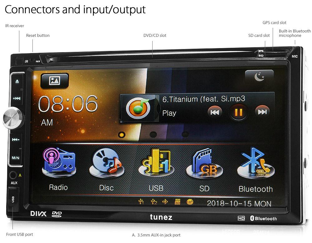 7 U0026quot  Car Gps Dvd Player Nissan Pathfinder Juke Navara Stereo