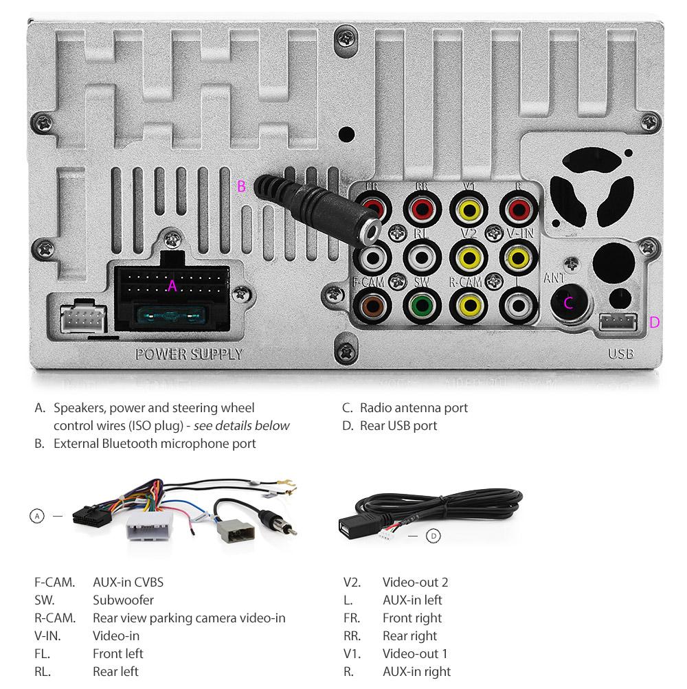 Car Dvd Player Usb Mp3 Stereo Radio For Nissan Xterra Frontier Juke Nv Cargo Van