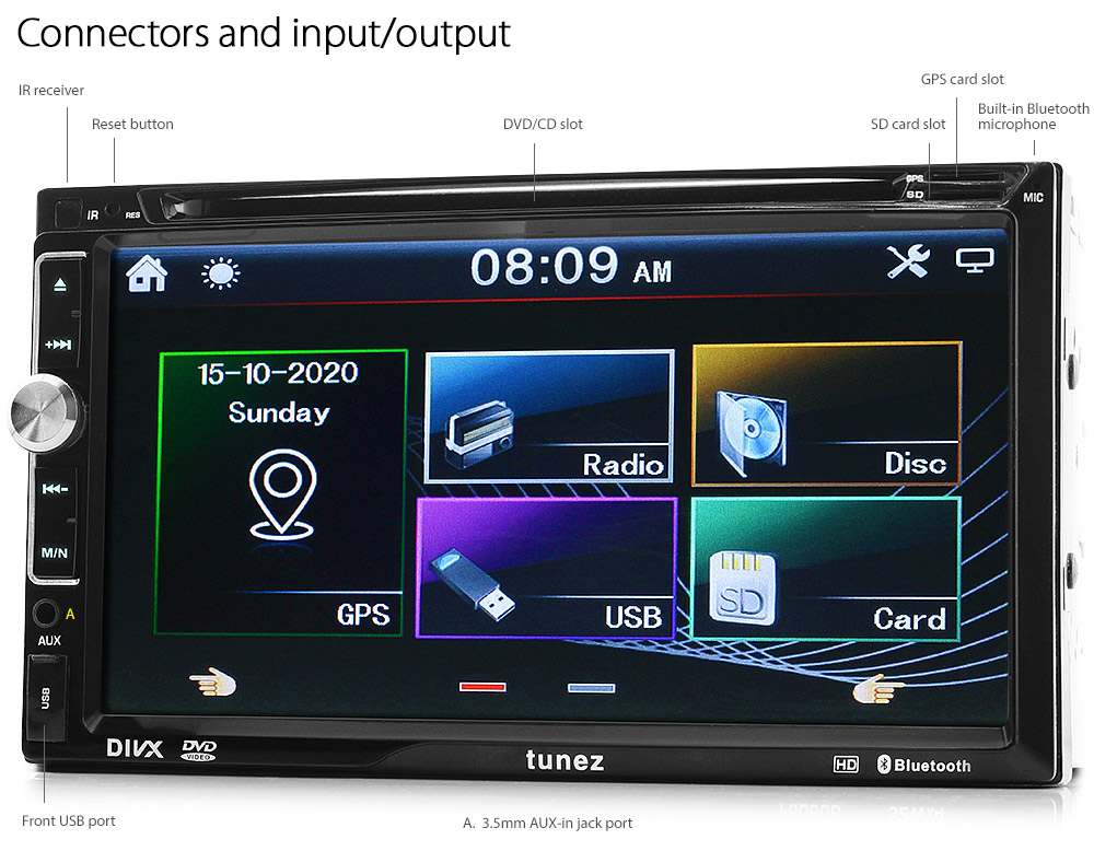 Suzuki Swift Fz Dvd Gps Player Head Unit Stereo Radio Sat