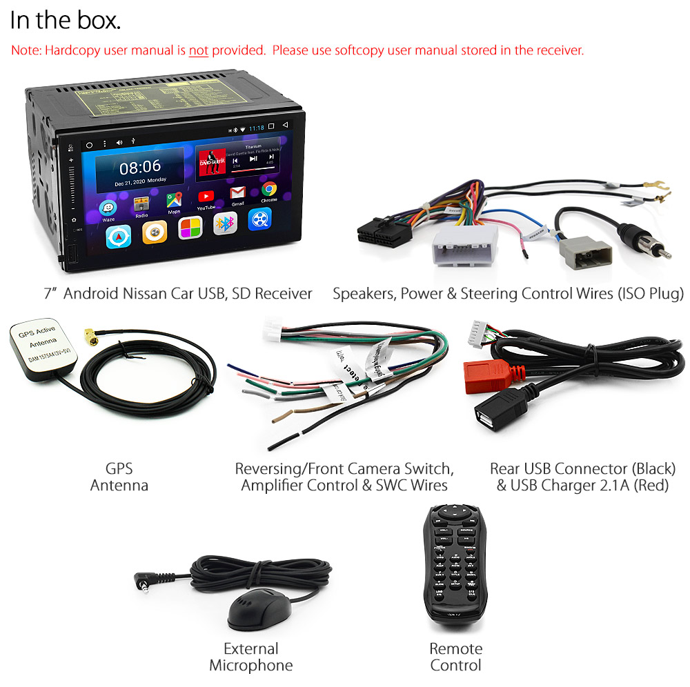 Android Car Mp3 Player For Nissan Qashqai Juke Note Head Unit Stereo Radio Usb K 6219592068389