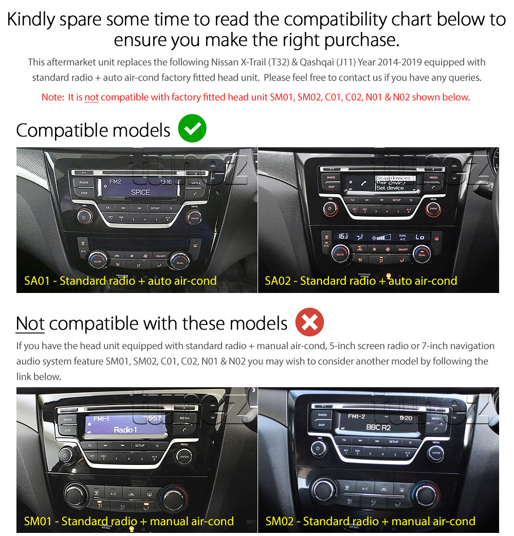 10 U0026quot  Android Mp3 Car Player For Nissan Xtrail T32 Qashqai