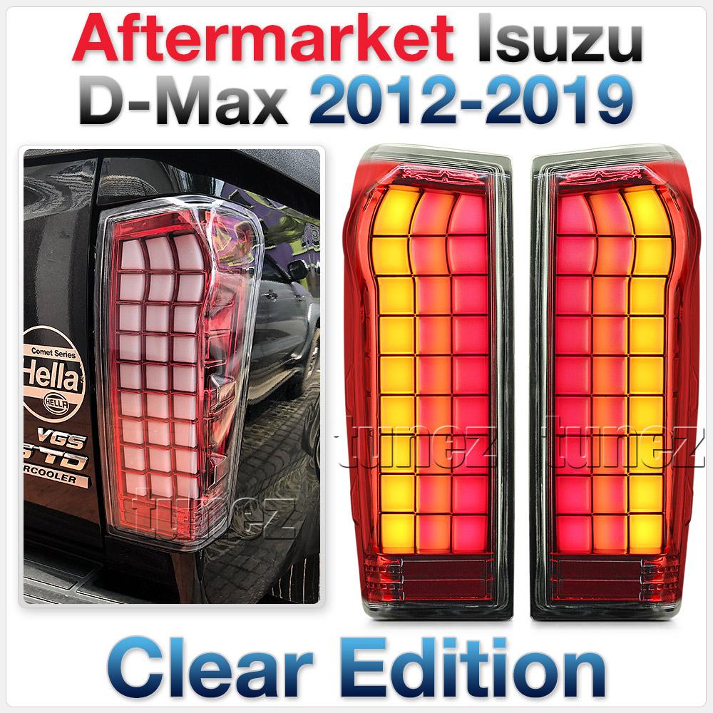 NEW LED Tail Rear Lamp Light Isuzu D-Max LS SX RT50 RT85 Car Clear DMAX Tunez OZ