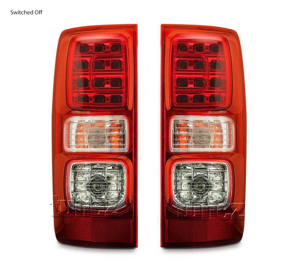 Pair LED Tail Rear Lamp Light For Holden Colorado RG 2012-2019 LTZ LS Z71 LT OZ