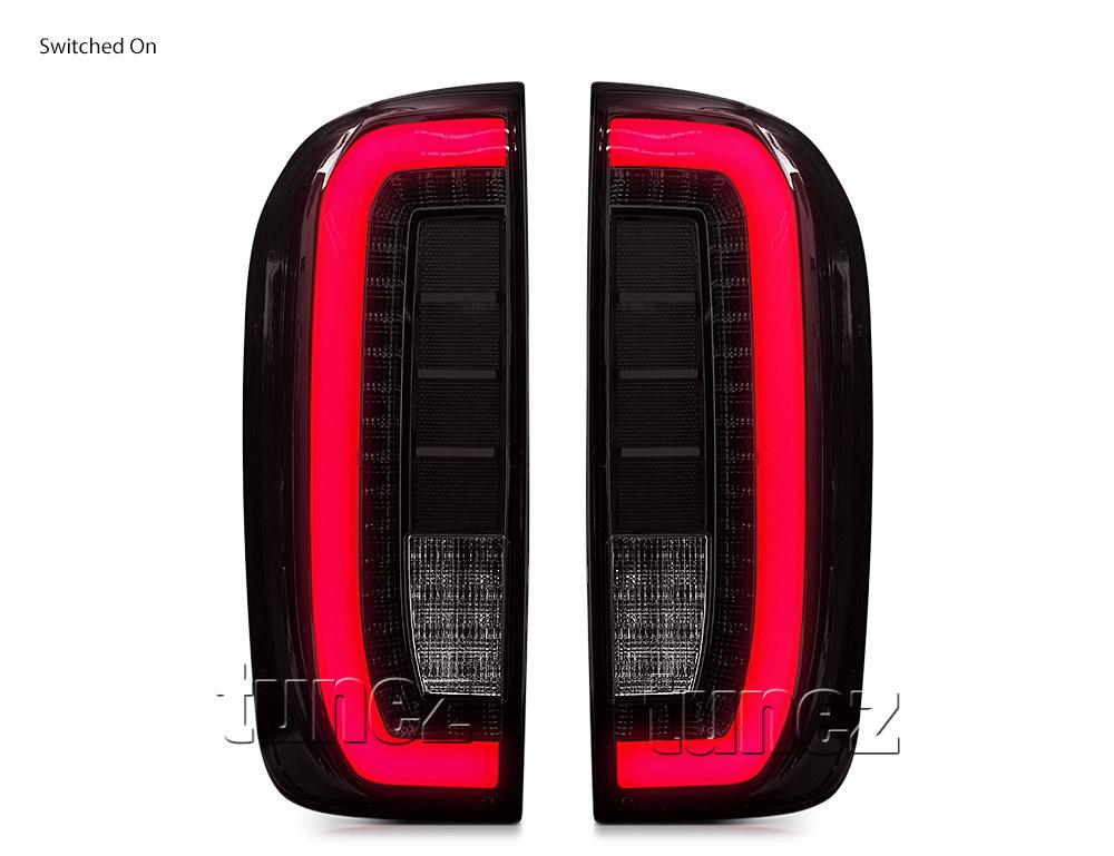 Aftermarket Nissan Navara NP300 D23 2015-2020 Smoke Edition Tail Light