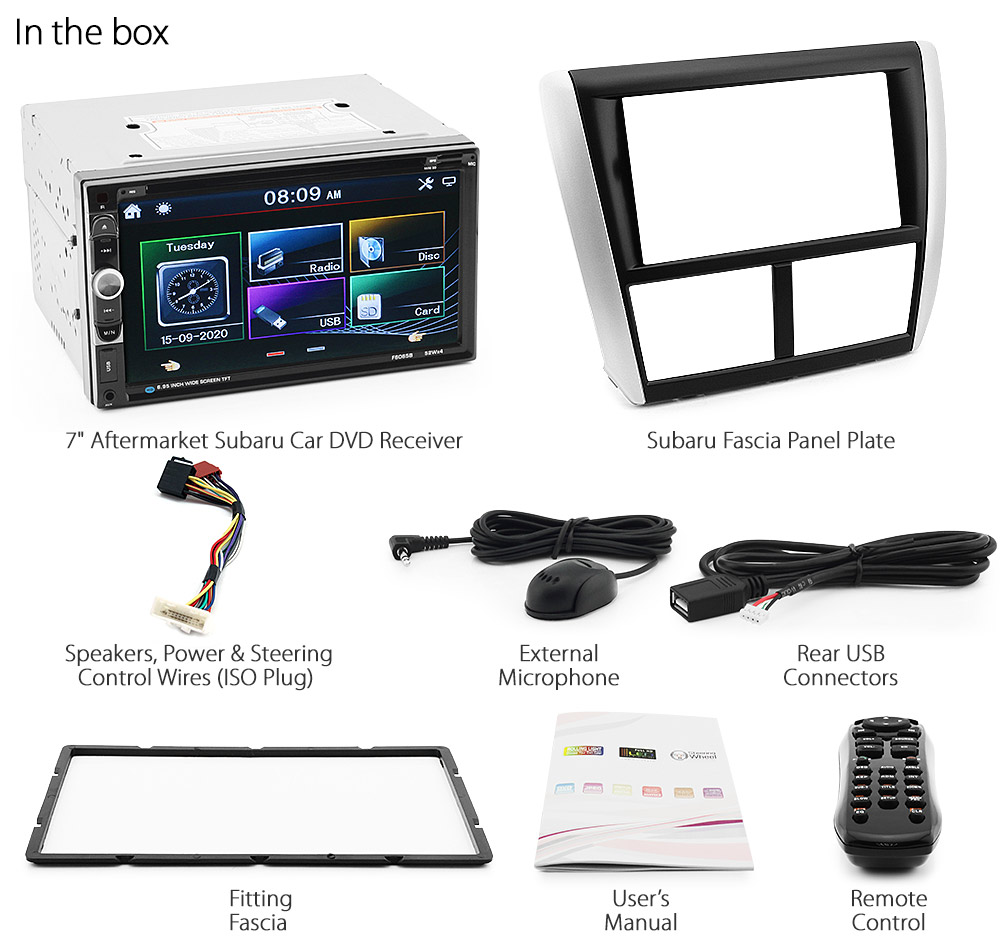Car DVD Player Subaru Impreza G3 Stereo Head Unit Radio CD ...