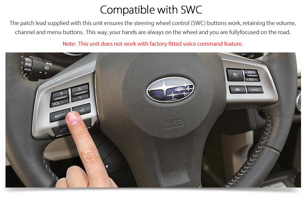 Car Dvd Player Subaru Impreza G4 Forester S4 Xv Stereo Head Unit Radio Cd Mp3 Tu 769572711829
