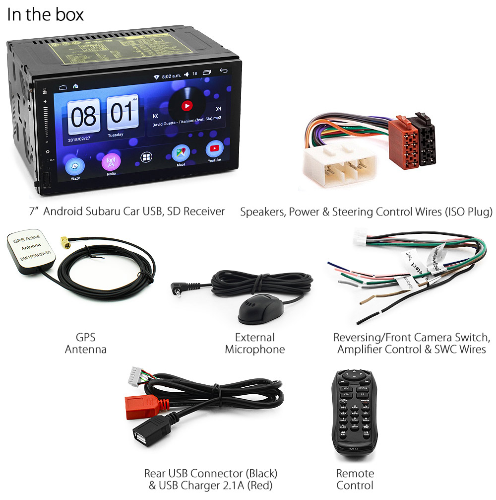 android car mp3 player subaru impreza forester stereo gps. Black Bedroom Furniture Sets. Home Design Ideas