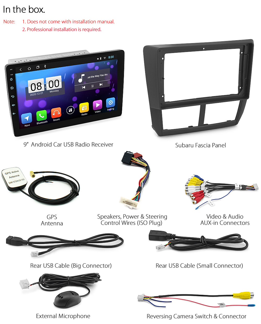 2009 subaru impreza stereo wiring harness 9  android car player mp3    subaru       impreza    g3 2007 2013  9  android car player mp3    subaru       impreza    g3 2007 2013