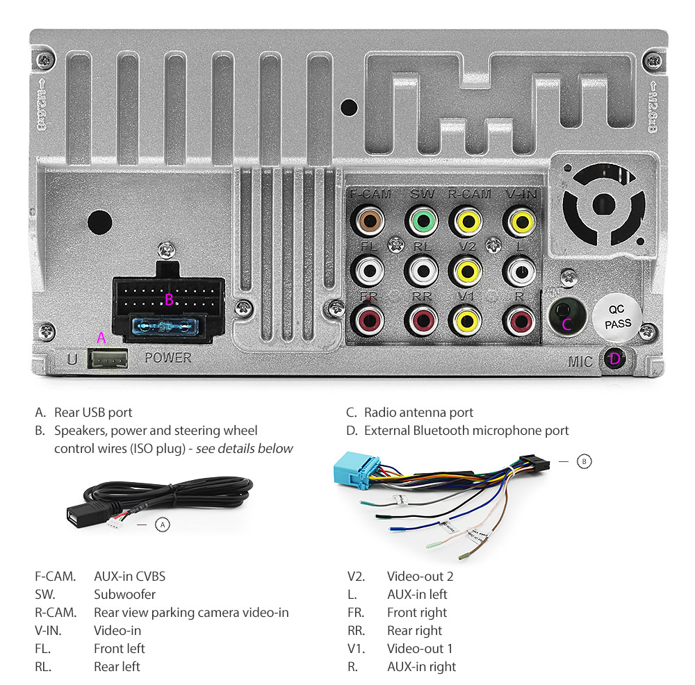 car dvd player stereo radio for suzuki grand vitara usb Pioneer Wiring  Color Diagram Pioneer Radio Wiring Diagram