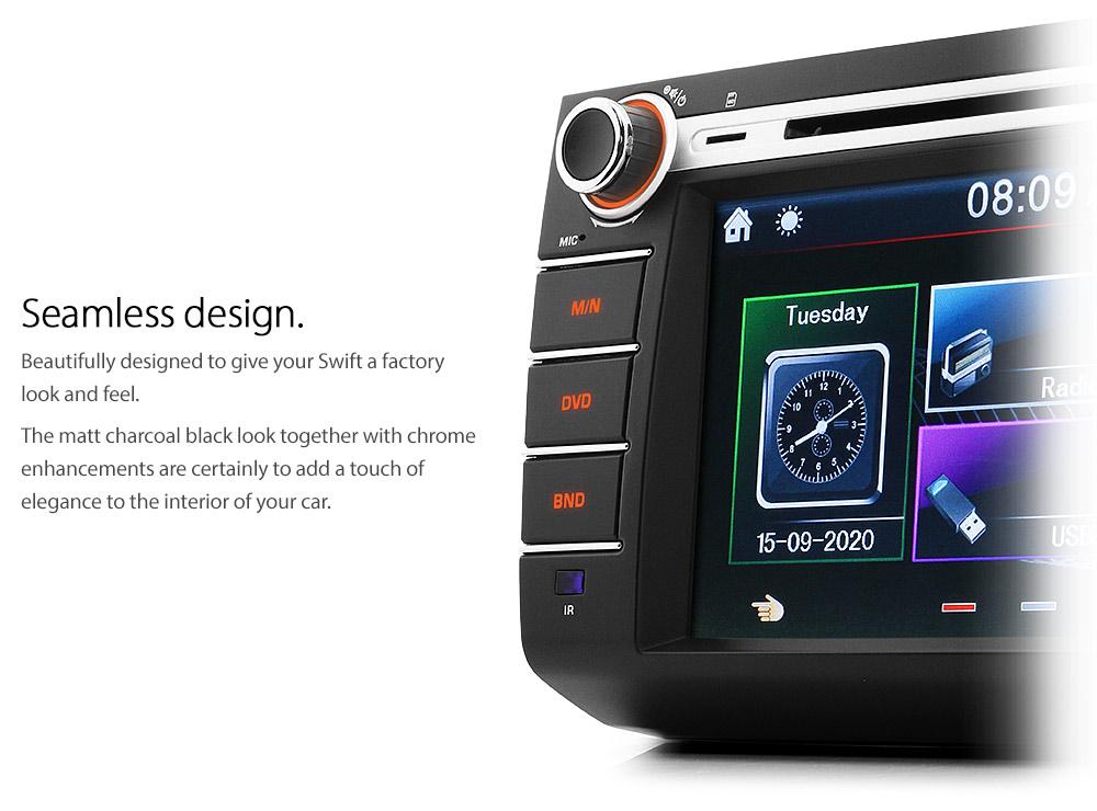 Car Dvd Player Usb Cd Stereo Radio For Suzuki Swift 2005