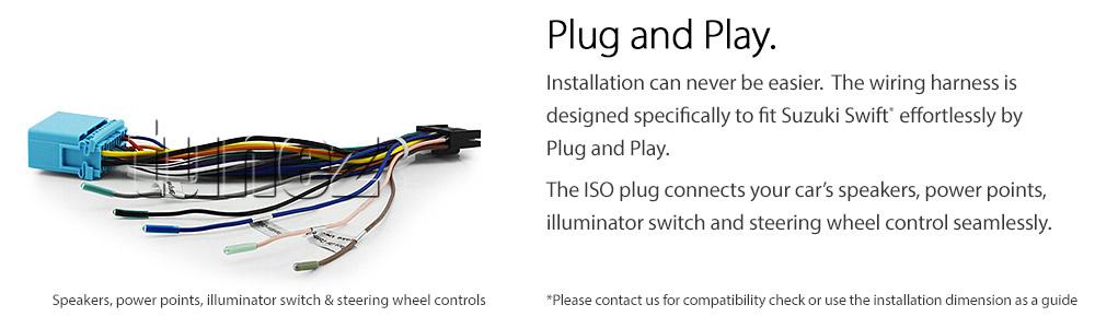 8 U0026quot  Car Dvd Usb Mp3 Player For Suzuki Swift Head Unit Mp4 Stereo Radio Audio Cd G