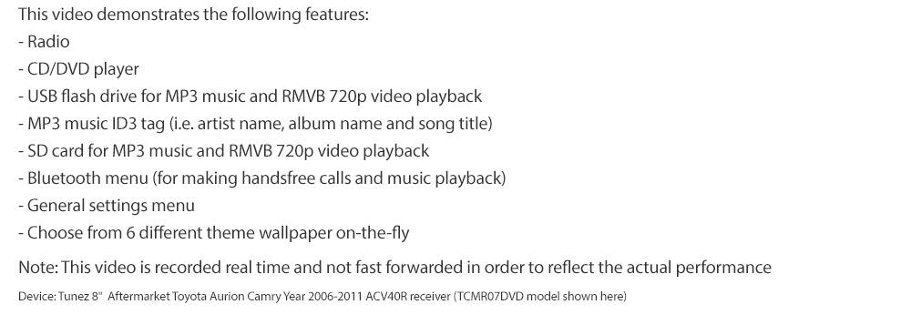 Car Dvd Player For Honda Civic Fd1 Fd2 Stereo Usb Mp3