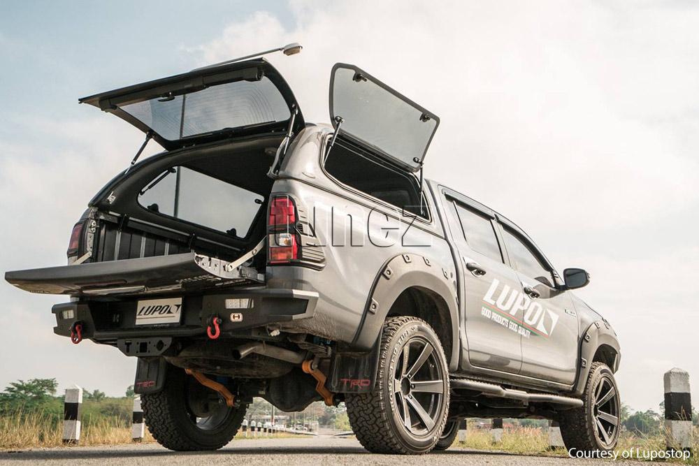 What Does Trd Stand For >> Wheel Fender Flare Black Kit For Toyota Hilux GUN1 2017 ...